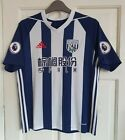 WBA Boys Football Shirt Size 13-14 Years. West Bromwich Albion. Adidas Climacool