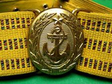Authentic Russian Soviet USSR Navy Officer's Parade Uniform Belt. 1982