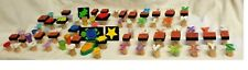 Lot of 79 Alphabet Stampers + Picture Stampers for Dexterity Challenged w/o ABCD
