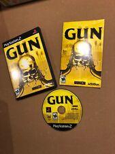 Gun PlayStation 2 Complete CIB PS2 Video Game: VGUC