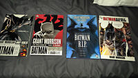 BATMAN lot set run of 4 Hardcovers Grant Morrison Deluxe