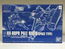 Premium Bandai HGUC 1/144 RX-80PR Pale Rider Gundam Space Type Missing Link JPN