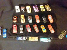 25 HOT RODS [ HOT WHEELS, MATCH BOX AND MISC. LOT DOG 12