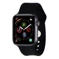 Renewed Apple Watch Series 4 (44mm) A1978 GPS - Space Gray Aluminum/Black Sport