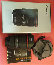 Canon EF 16-35mm f/4L IS USM Wide Angle Zoom Lens w/ Lens Hood + Box