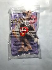 Stretchy The Ostrich Animal Ty Beanie Baby #10 1999 McDonalds Happy Meal Toy New