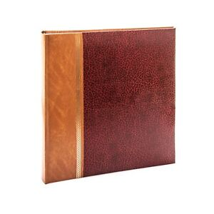 """Kenro Grace Series Red Blue Leatherette Photo Album 7x5"""" 200 Photos Slip-in"""