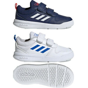 Adidas Infant Baby Boy Tensaur Shoes Leather Infants Trainers First Step Navy