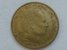 Escasos 20 centimos de Franco Principado de Monaco 1962 Principe Rainiero III