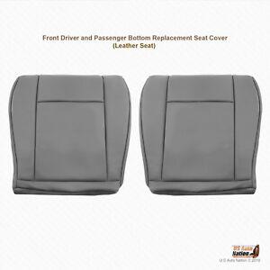 2009 2010 2011 Ford E150 E250 Van DRIVER & PASSENGER Bottom  Vinyl Seat Cover