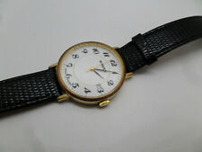 Mondaine M Watch 7607 800/S3 Swiss Made Ronda 315 vergoldet Herren Armbanduhr