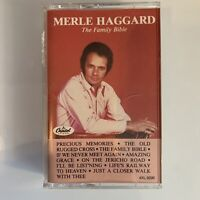 Merle Haggard The Family Bible (Cassette)