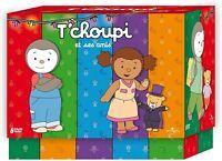 COFFRET TCHOUPI ET SES AMIS 6   DVD  NEUF SOUS CELLOPHANE