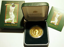 1996 Don Bradman $5 Proof Coin  - As issued - Catalogue Value $140