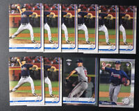 2019 Topps Series 2  KYLE WRIGHT RC Lot (10) Braves Rookie  #473 Topps Chrome