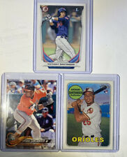 ANTHONY SANTANDER lot of 3 W/  2014 Bowman BP-67 , 2018 Topps & Heritage RC's