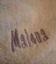 "Company Store Kids Ruffle Terry Robe Little Mermaid ""Malena"" Size Large #8095S"