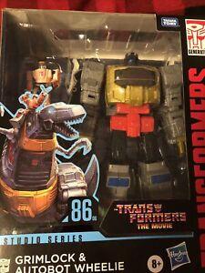 "Transformers Studios Series 8""Figure Leader 2021 Wave 1 Grimlock 86-06 IN hand!!"