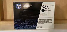 Genuine HP 96A C4096A Black Toner Cartridge-Laserjet 2100 2200 New OEM, Sealed
