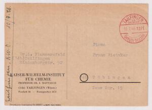 NACH 45, Gebühr bezahlt / Barfreimachung,Tailfingen O.A.Balingen,11.7.46