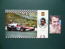 Sammelbilder Clay Regazzoni Ferrari Fomule Formula eins stars Autosport figurine