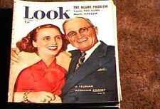 LOOK MAGAZINE 1949 DEC 6 FINE+ FILE COPY HARRY TRUMAN PERRY COMO GREAT ADS
