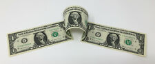 3 Connected One Dollars (3 x $1) Genuine US Currency Notes