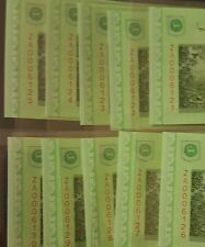 CCY~RM5 Replacement ZA x 10 PCS R/N Malaysia Rare BANKNOTE,UNC,NR, 3ZERO