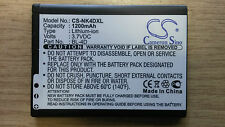 New For Nokia Cameron Sino NK4DXL 1200mAh 3.7V Li-ion Rechargeable Battery