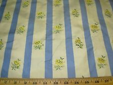 """~27 2/8 YDS~100% SILK~""""AVIGNON"""" FLOWERS~EMBROIDERED~UPHOLSTERY FABRIC FOR LESS~"""