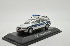 Rare !! VW Passat Israel Patrol Police Car Code 3 by Schuco 1/43