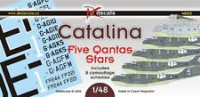 NEW DK Decals 48013 1:48 Consolidated PBY Catalina - Five Qantas Stars