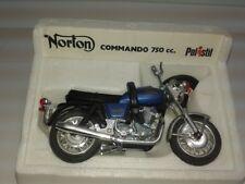 Polistil MS111 Norton Commando 750 cc. 1970's 1:15 OVP MIB old stock