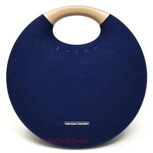 Harman Kardon Onyx Studio 6 Blue Speaker Portable Wireless Bluetooth Extra Bass