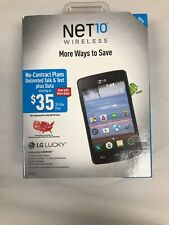 Net10 Wireless LG Lucky L16C Prepaid Android Smartphone