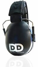 Professional Safety Ear Muffs by Decibel Defense - 37dB NRR - The HIGHEST Rated