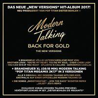 MODERN TALKING - BACK FOR GOLD   CD NEU