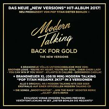 MODERN TALKING - BACK FOR GOLD   CD NEU
