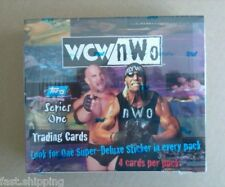 1998 WCW NWO WRESTLING CARDS Topps Series 1 SEALED BOX STING HULK HOGAN WWE LQQK
