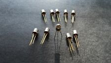 10 X TIL81 PHOTO TRANSISTOR - TEXAS INSTR - NOS - GEM-3