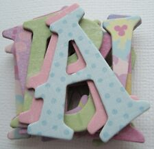"K & Company - SPARKLEY SWEET - Chipboard Alphabet Letters & Die Cuts 1.5"""