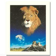 Shimmel  - Lion - Quality Art Screenprint - Limited Edition - Signed