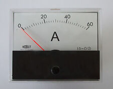 R59 DC ammeter for use with shunt 0-60amps  R5960AS