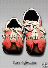 Art/Mini Steve Prefontaine Poster/Red Shoes/ 5x7 Inches