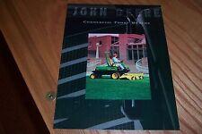 JOHN DEERE  COMMERCIAL  FRONT MOWERS   LITERATURE 1997