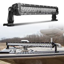 Boat Marine Fishing LED Light Bar DC 9-36V Water Proof Search Light 20 inch 100W