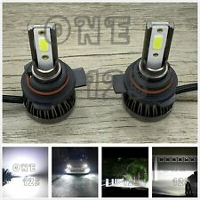 MINI 9012 HIR2 CREE LED Headlight Bulbs Kit High Low Beam 6000K White 55W 8000LM
