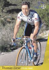 CYCLISME carte cycliste THOMAS LIESE équipe NURNBERGER
