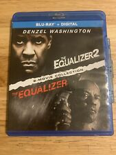 The Equalizer 1/The Equalizer 2 (Blu-ray,2-Disc)Authentic US Release