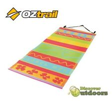 NEW OZtrail Beach Mat Wave - Travel Mat Holidays Pool Caravan TOWEL